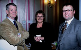 Brendan Moran Enterprise Ireland Evelyn Lane and Scott Golden Canal LES at launch of Canal Business Network Oct 17 2012