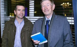 Darragh Moran Canal Communities Partnership and Joe Saul Seal Pack at launch of Canal Business Network Oct 17 2012
