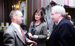 Jim Sproul Claire Doyle Dubonline and James Mooney Jamestown Studios at launch of Canal Business Network Oct 17 2012