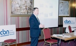 Minister John Perry TD speaking at the launch of Canal Business Network Oct 17 2012