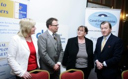 Noeleen Rooney Dolphin Electrical Scott Golden Canal LES  Liz Ferris Canada Life with John Perry TD Minister for Small Business